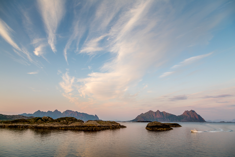Svolvaer, Lofoten, sunset