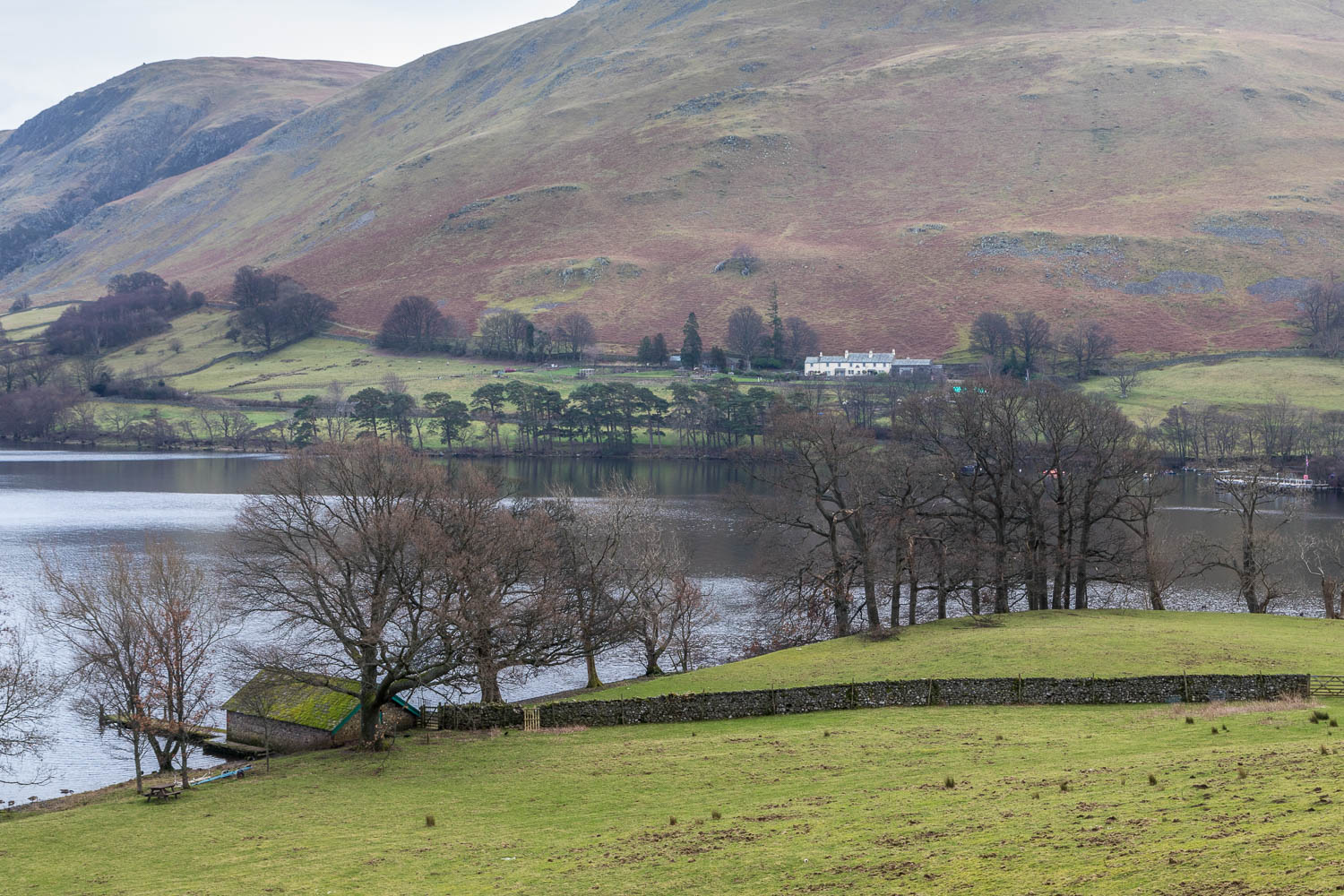 Ullswater walk, Howtown