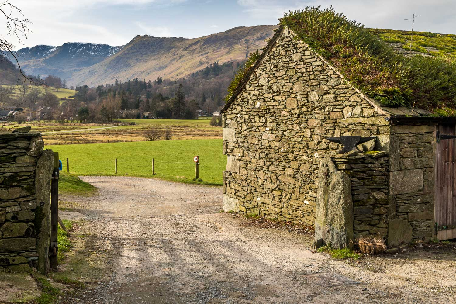 Ullswater walk, Side Farm