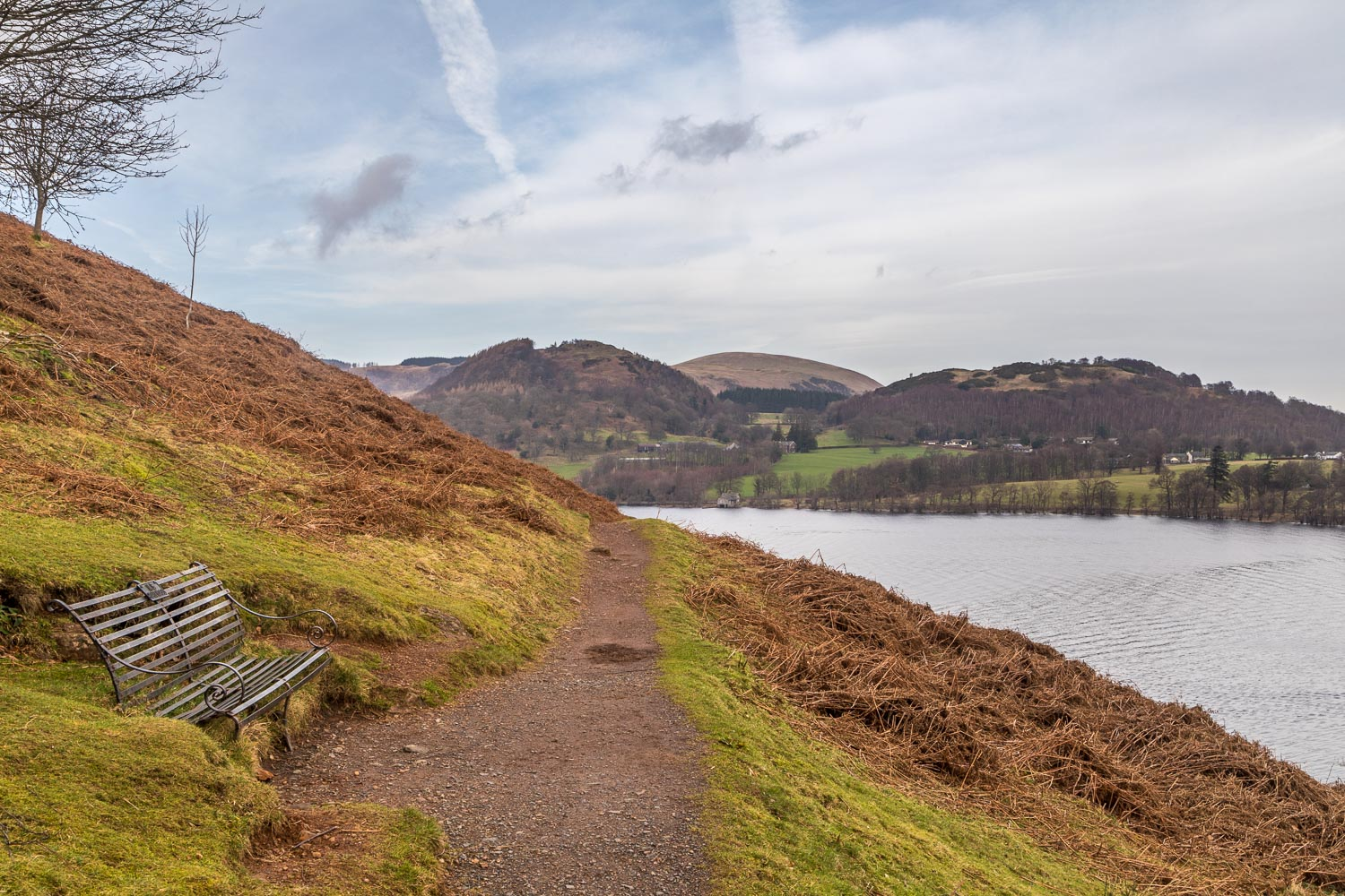 Ullswater walk, Geordies Crag