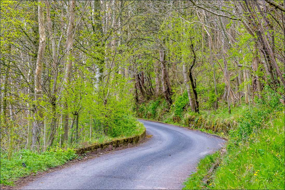 Ullswater Way, road to Bennethead