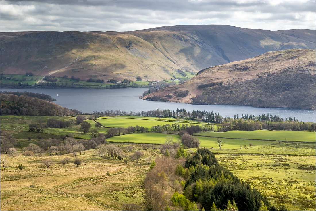 Ullswater Way, view to Howtown