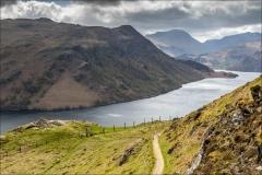 Ullswater Way, Gowbarrow Fell path