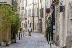 Uzes old town
