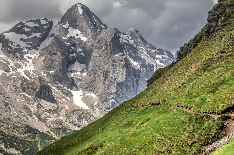 Viel del Pan walk, Dolomites walk