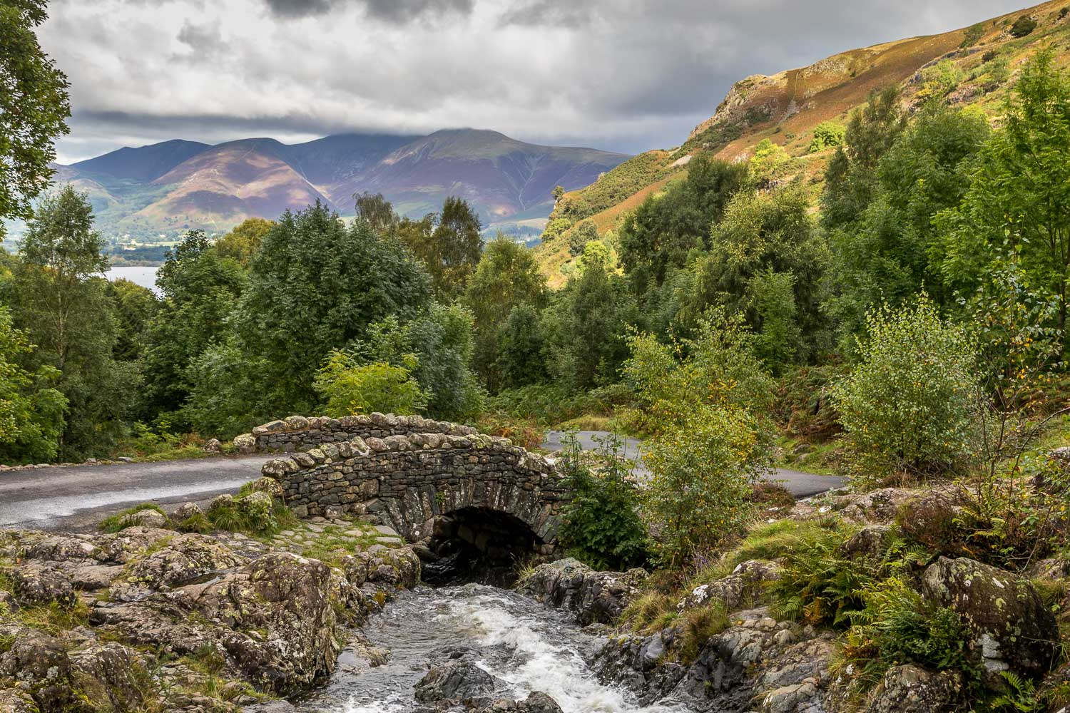 Walla Crag walk, Ashness Bridge