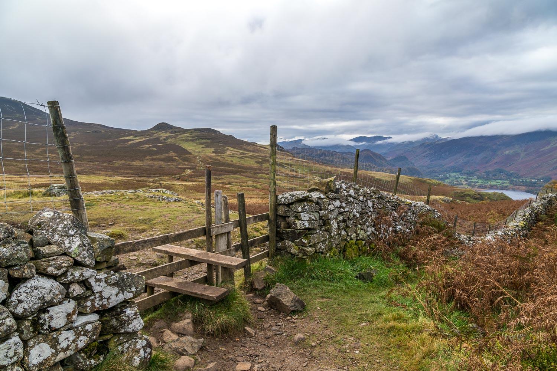Walla Crag walk