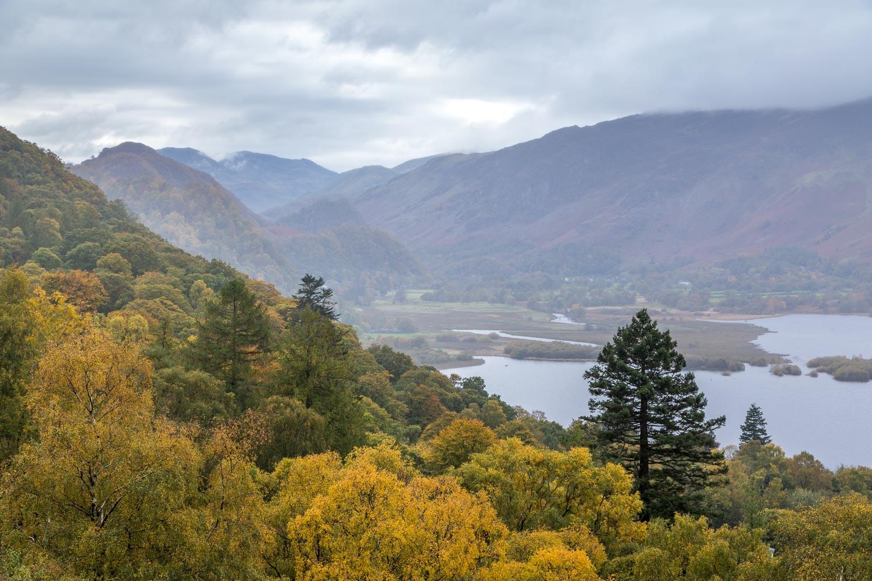 Walla Crag walk, Derwent Water
