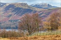 Walla Crag walk, Maiden Moor