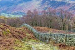 Walla Crag walk, Borrowdale