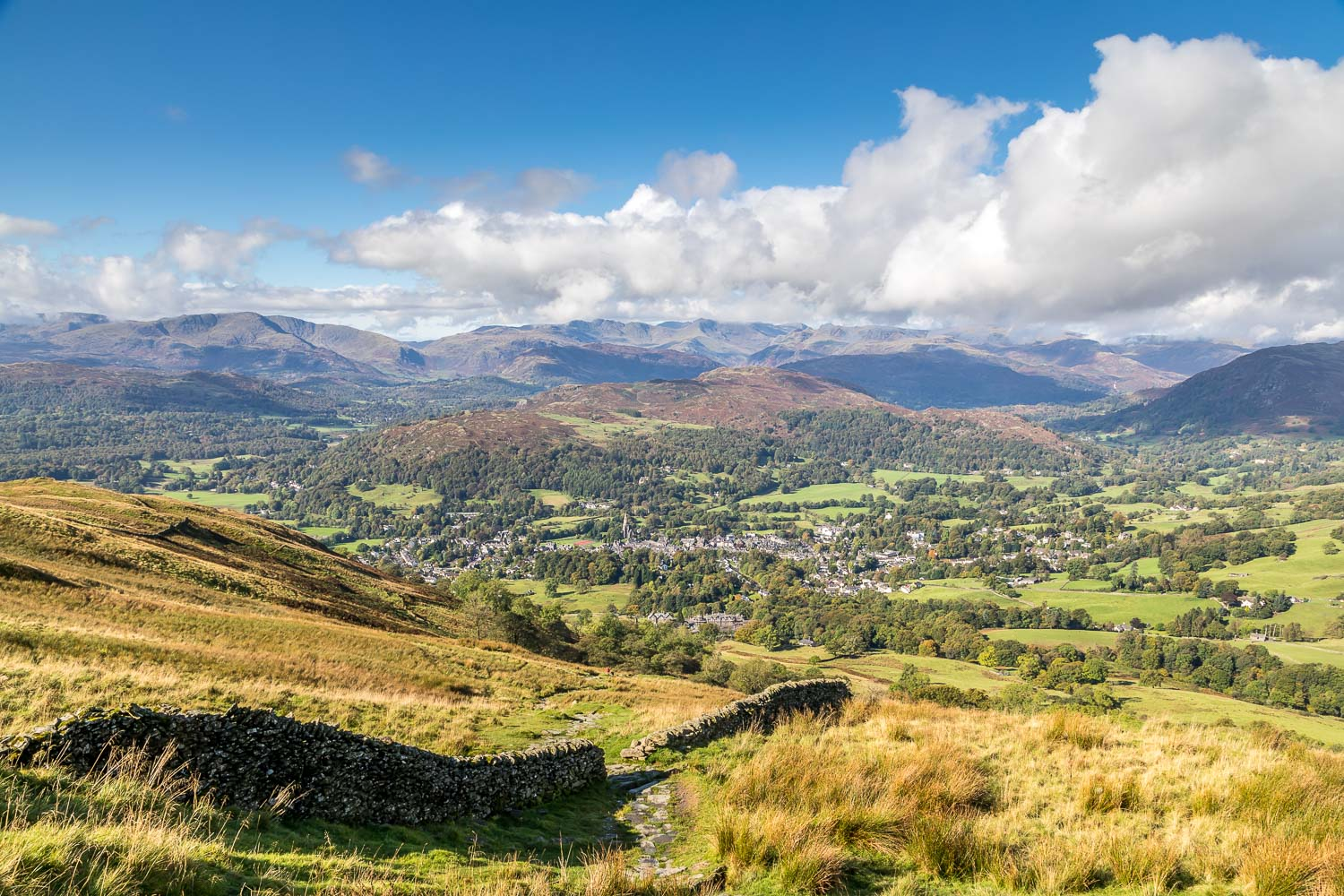 Wansfell Pike walk, Ambleside