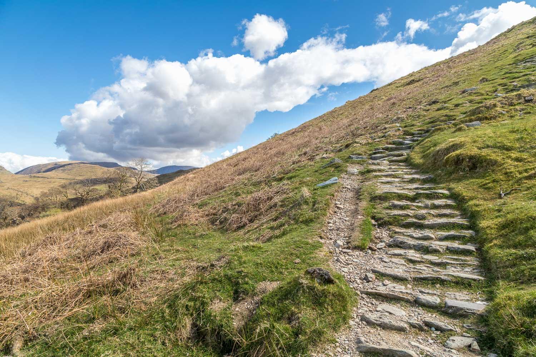 Wansfell Pike path