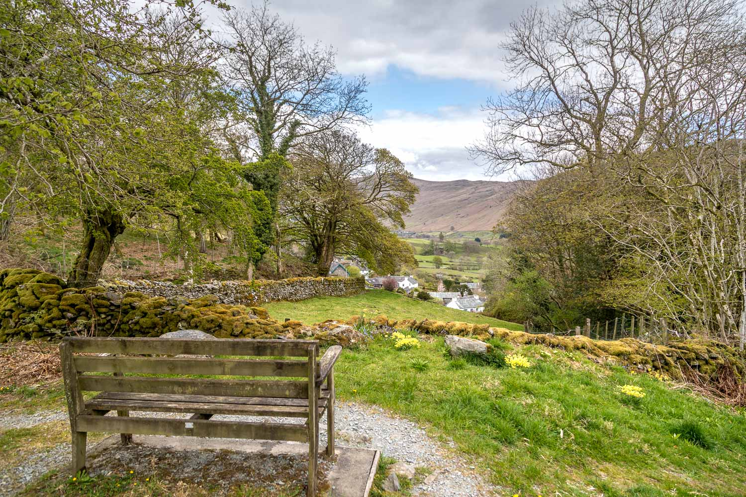Bench, Troutbeck