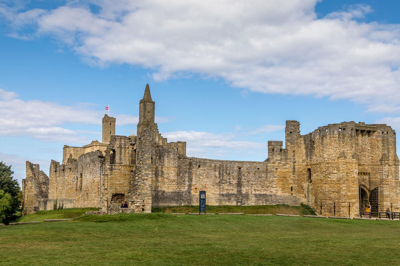 Warkworth walk, Warkworth Castle
