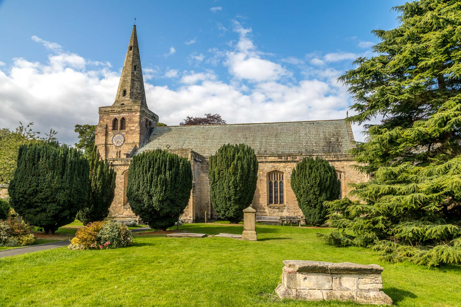 Church of St Lawrence Warkworth