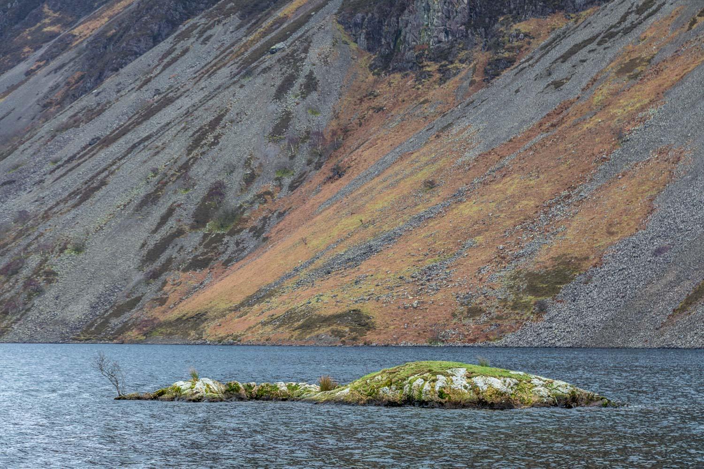 Wast Water island