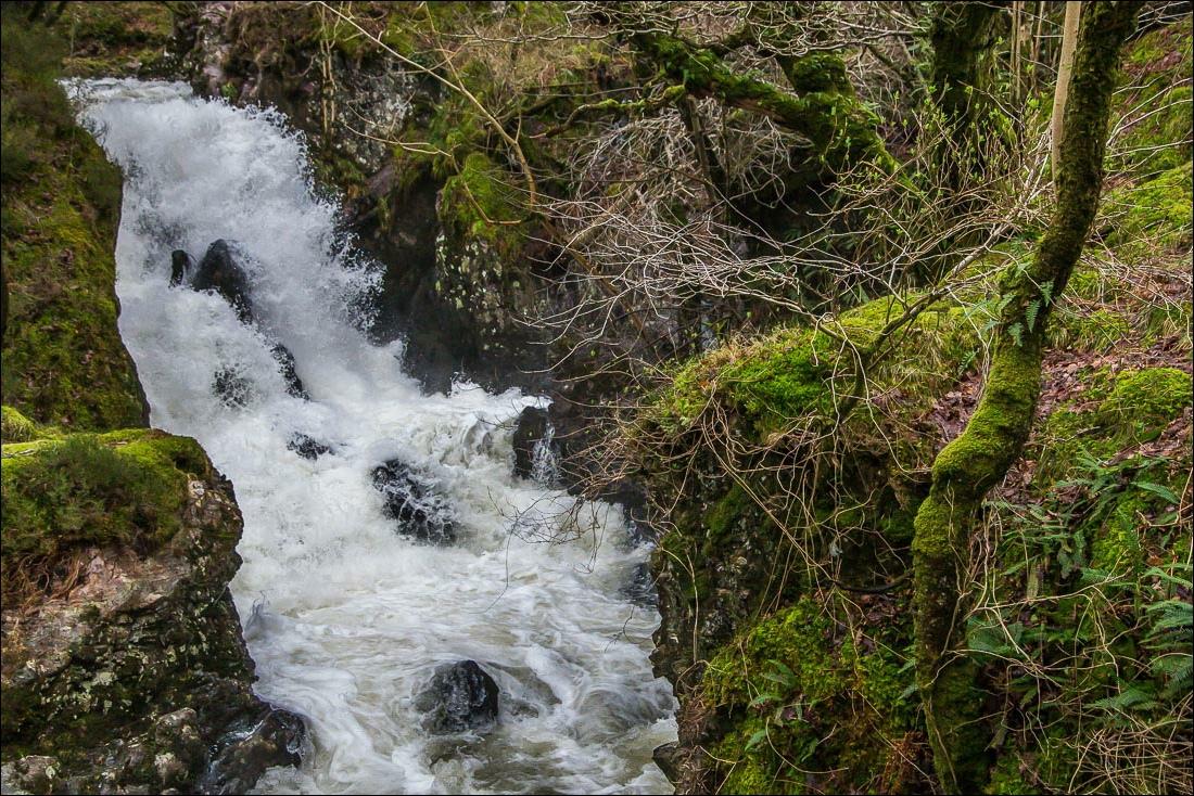 Watendlath Beck waterfall