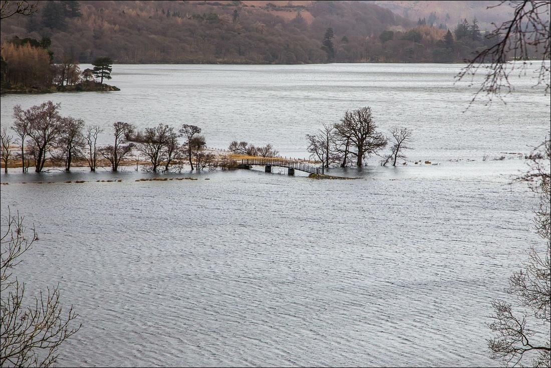 Derwent Water flood