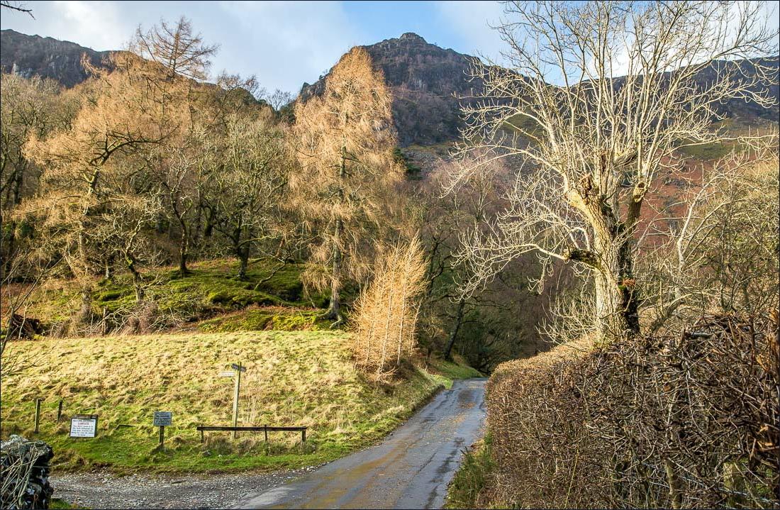 Cumbria Way, Borrowdale
