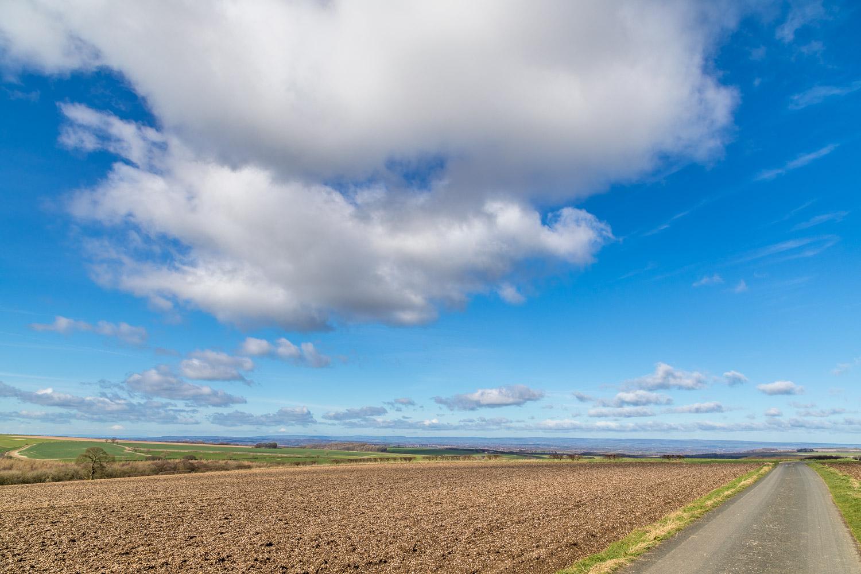 Wharram Percy walk, Yorkshire Wolds