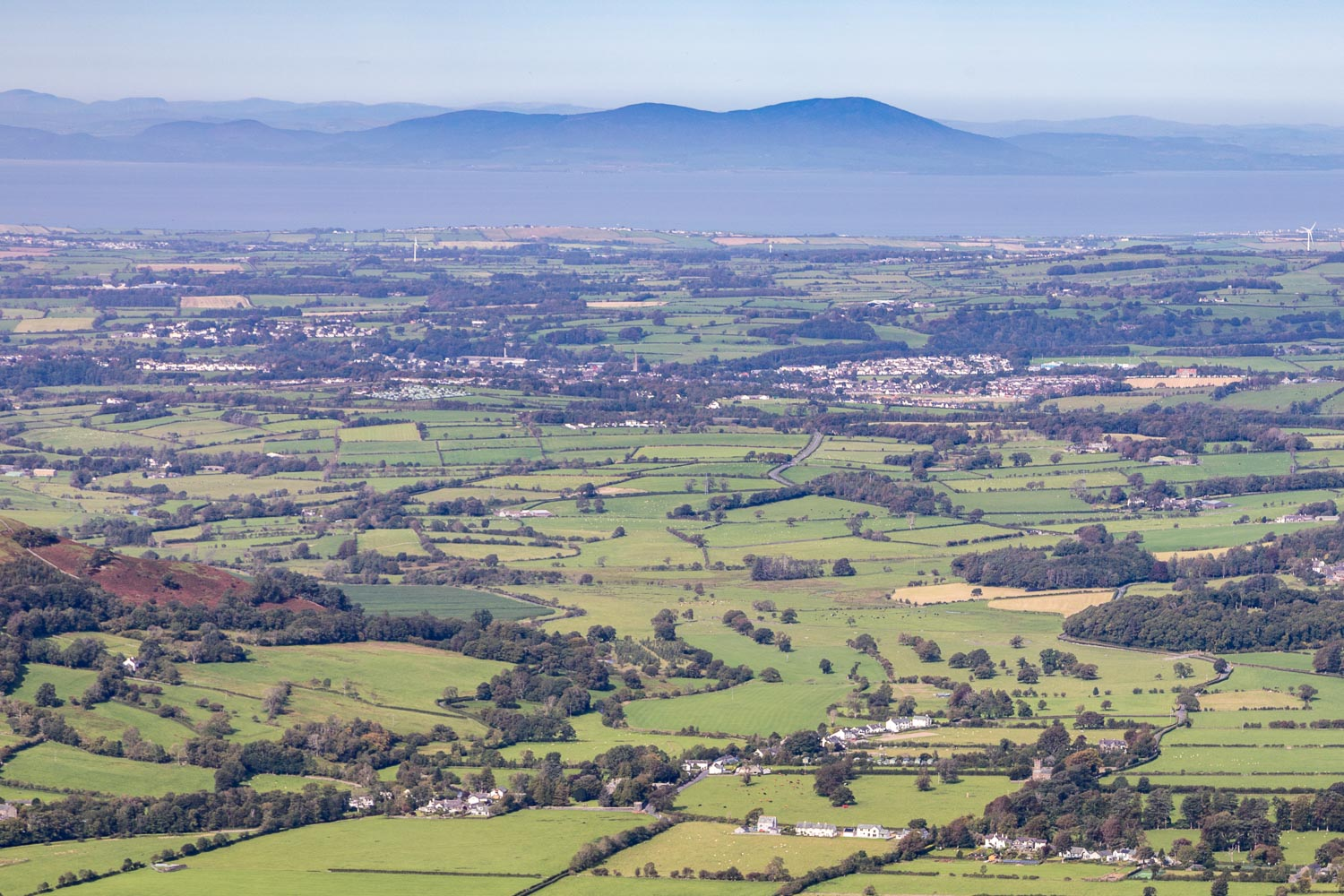 Lorton Vale, Cockermouth, Solway Firth, Criffel