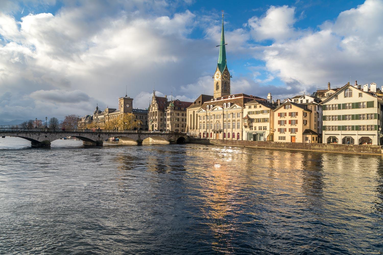 Zurich walk
