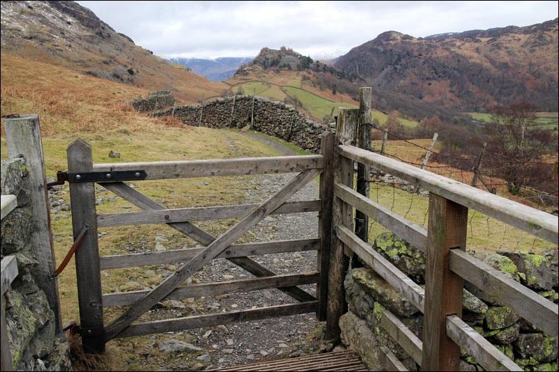 Grange to Seathwaite and back