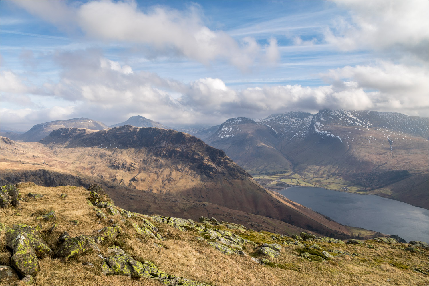 Scafells and Wastwater